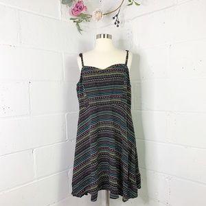 Torrid multicolored summer dress